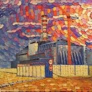 Чернобыль 30*40см, холст