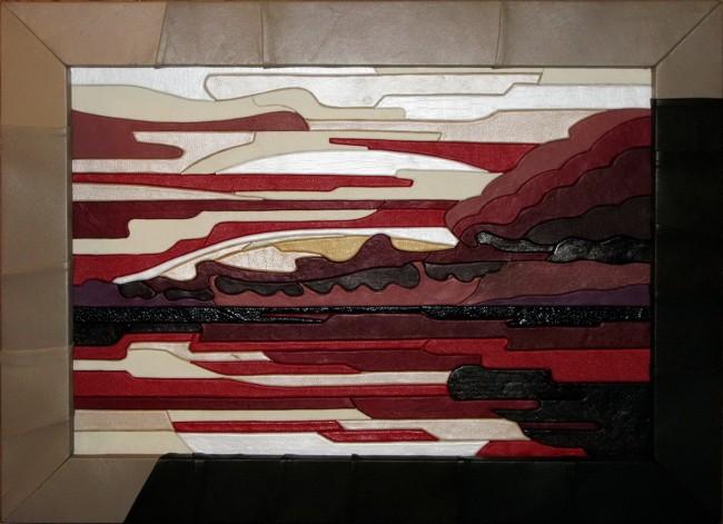 Krimea 60*80sm, leather